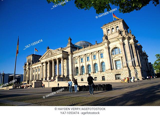 Reichstag Parliament Berlin Germany