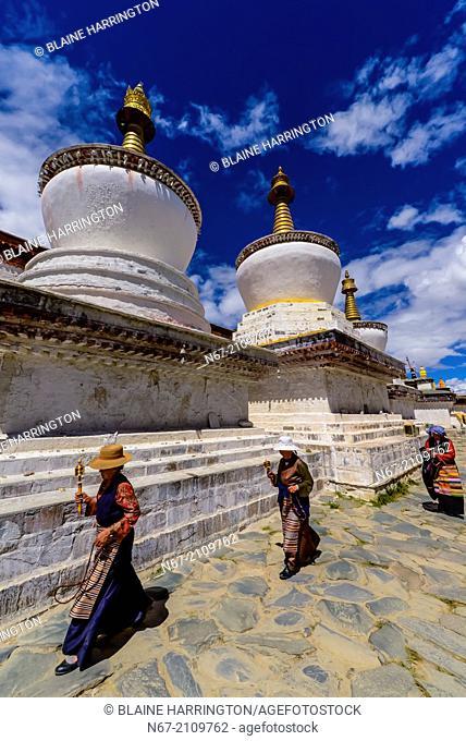 Tashilhunpo Monastery, Shigatse, Tibet (Xizang), China