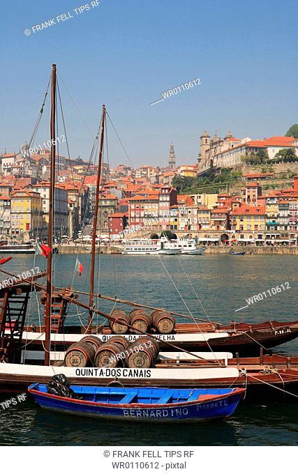Portugal, Oporto, river boats