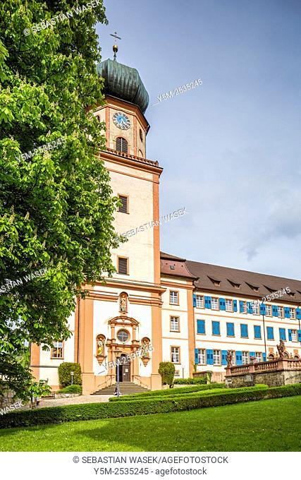 Kloster St. Trudpert monastery, Münstertal, Black Forest, Baden-Württemberg' Germany, Europe