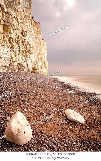 The Birling Gap near Eastbourne, Sussex, Uk