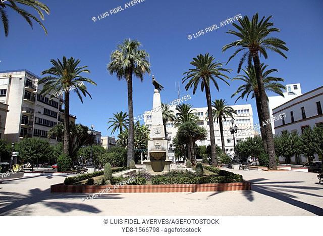 Plaza de las Angustias of Jerez de la Frontera, Cadiz, Andalusia, Spain, Europe