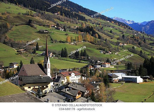Mareta, Racines, Val Ridanna. Trentino-Alto Adige, Italy
