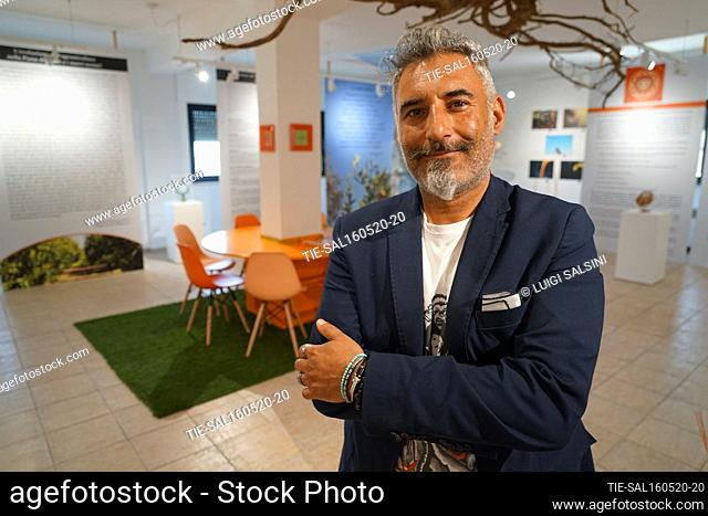 Pierluigi Gallo President of the Muclem, a museum dedicated to the tangerines , Corigliano Rossano, ITALY-15-05-2020