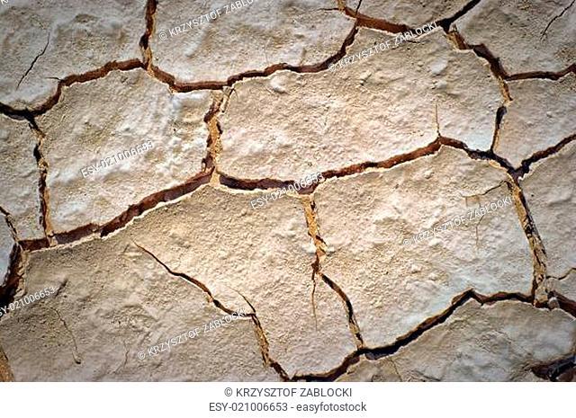 dry desert cracked ground background