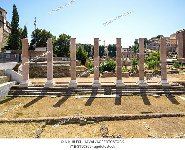 Temple of Peace, Forum of Vespasian, Rome, Italy