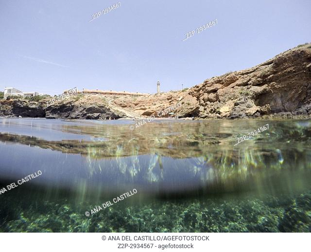 Underwater shoot in Cabo de Palos Murcia. Spain