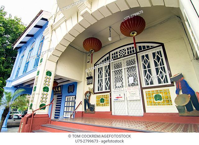 Perak Ku Kong Chow Association building, old town, Ipoh, Perak, Malaysia