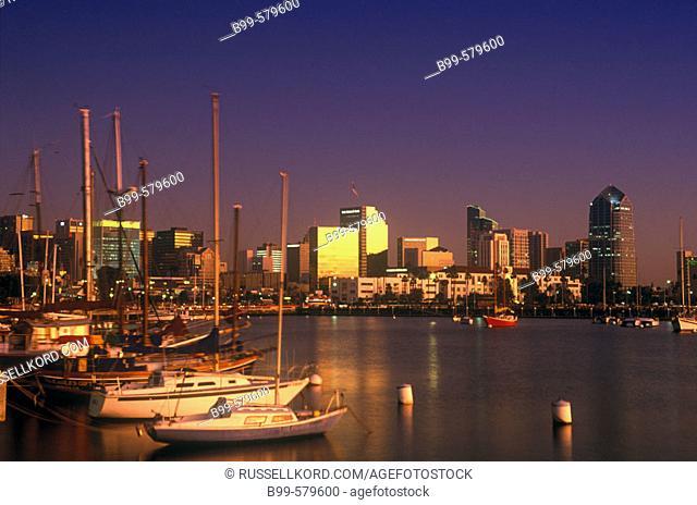 Downtown, San Diego, California, Usa