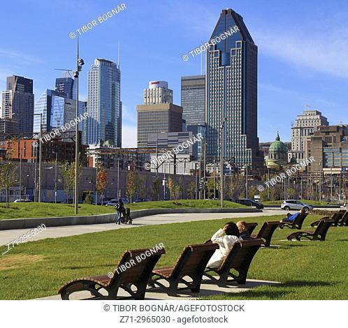 Canada, Quebec, Montreal, Boulevard Robert-Bourassa,