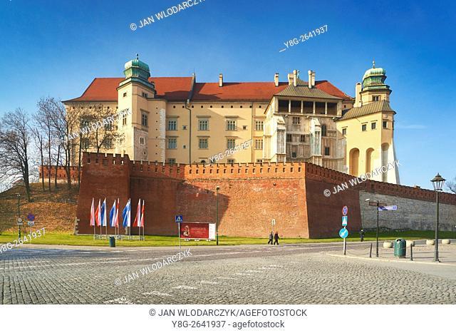 The Wawel Castle, Crackow, Poland