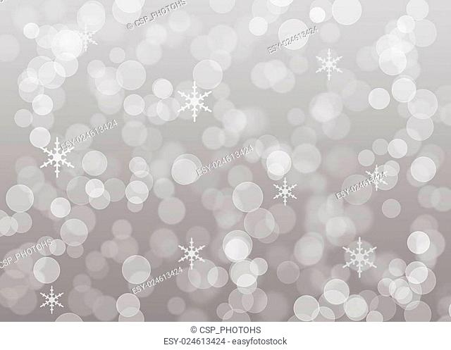 Bright silver dot background