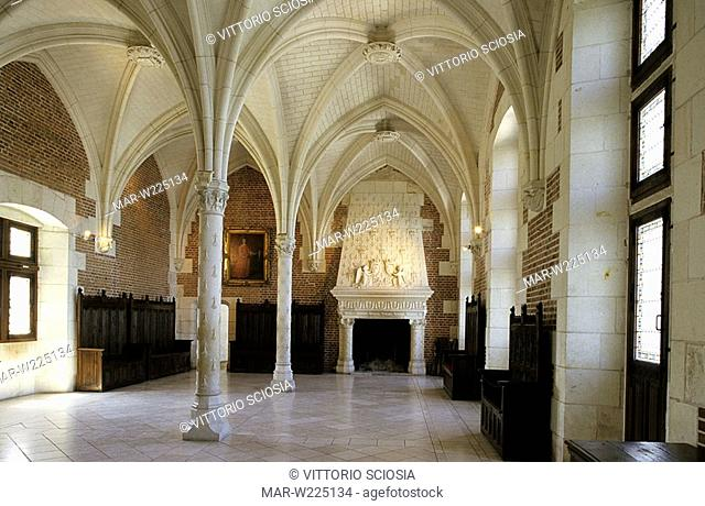 europe, france, loire valley, chateau d'amboise