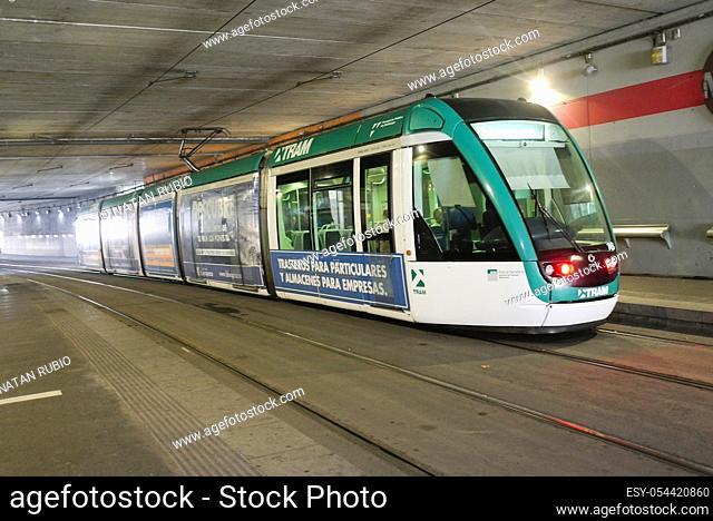 Tram, Cornella de Llobregat , Barcelona, Spain