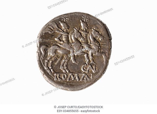 Original roman coin silver, Denarius