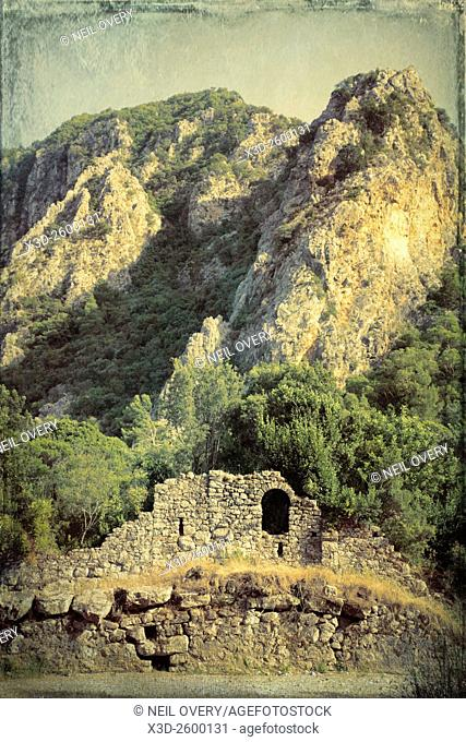 Ancient City of Olympos, Cirali, Turkey