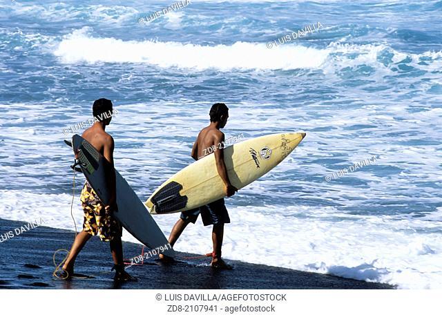 papara beach.tahiti.Polynesia
