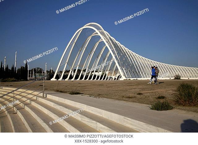 Olympic Sport Complex by Calatrava, Athens, Greece
