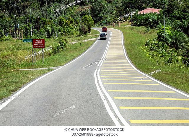 Kuching- Lundu road, Sarawak, Malaysia