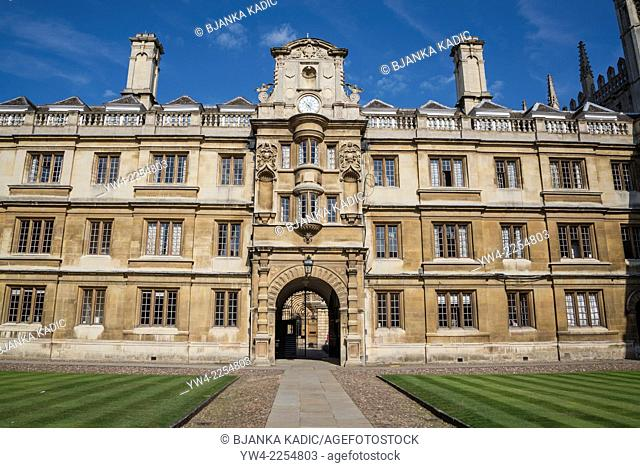 Clare College, Old Court, Cambridge, England, UK