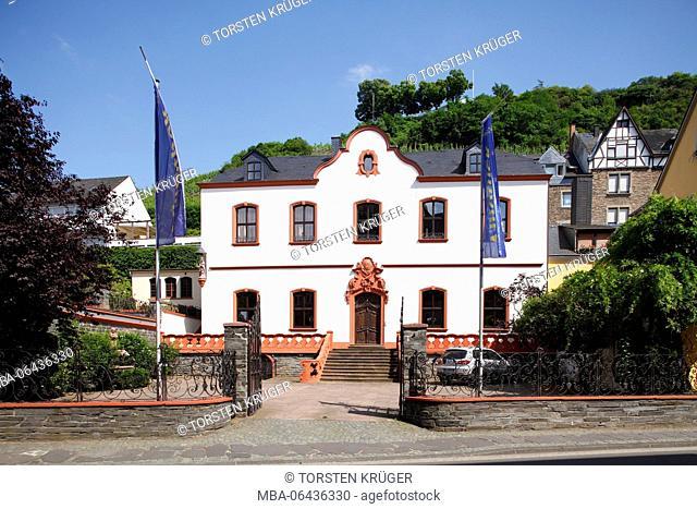 Old house, Bernkastel, Bernkastel-Kues, Rhineland-Palatinate, Germany