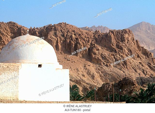 Tunisia - The South - Chott el Jerid Region - Montain Oasis - Tozeur Region - Chebika Oasis