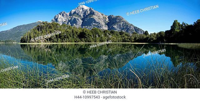 South America, Argentina, Patagonia, Rio Negro, Bariloche, Nahuel Huapi, National Park, Lake District