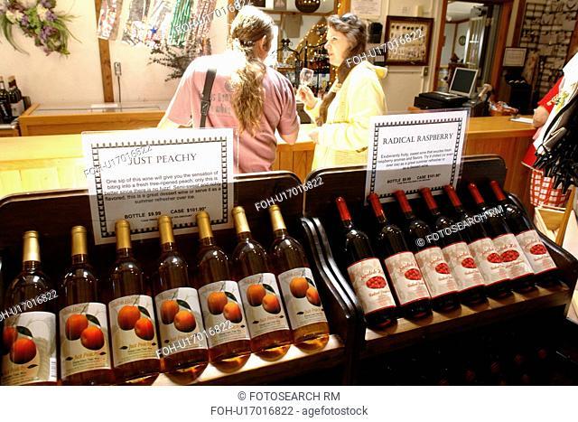 Romulus, NY, New York, Finger Lakes, Swedish Hill Winery, wine tasting