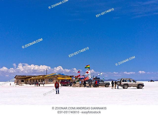 Tourist Camp, Salar de Uyuni, Bolivia, South America