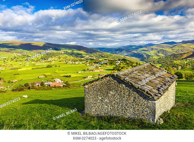 Soba valley. Cantabria, Spasin, Europe