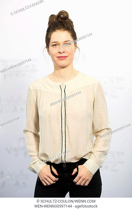 """Actors promoting the new Series """"""""Frau Temme sucht das Glueck"""""""" at Side Hotel Featuring: Meike Droste Where: Hamburg, Germany When: 09 Dec 2016 Credit:..."""