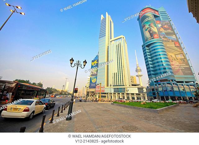 Downtown Fahad Al Salem Street, Kuwait City, Kuwait