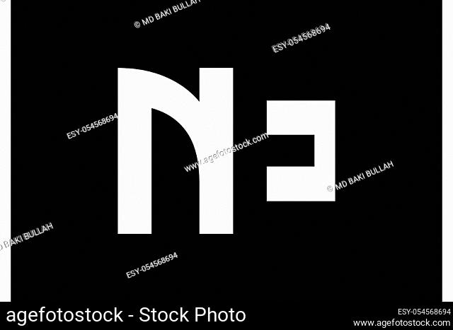 N E, NE Initial Letter Logo design vector template, Graphic Alphabet Symbol for Corporate Business Identity