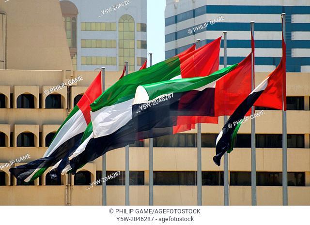 National flag of the United Arab Emirates, Abu Dhabi
