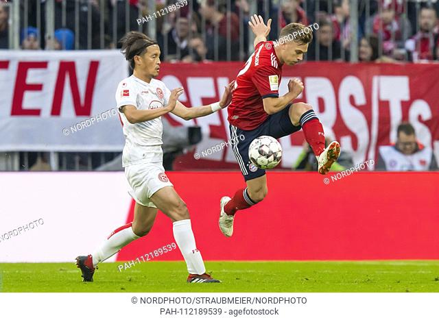 24.11.2018, Allianz Arena, Muenchen, GER, 1.FBL, FC Bayern Munich Vs. Fortuna Dusseldorf, DFL regulations prohibit any use of photographs image sequences and /...