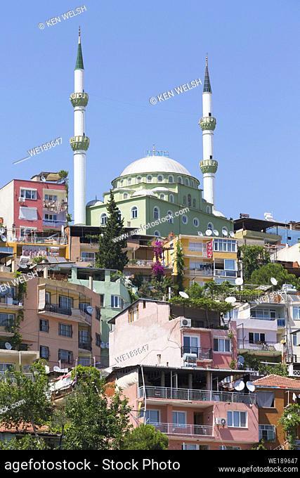 Izmir, Izmir Province, Turkey. Mosque in Smyrna district