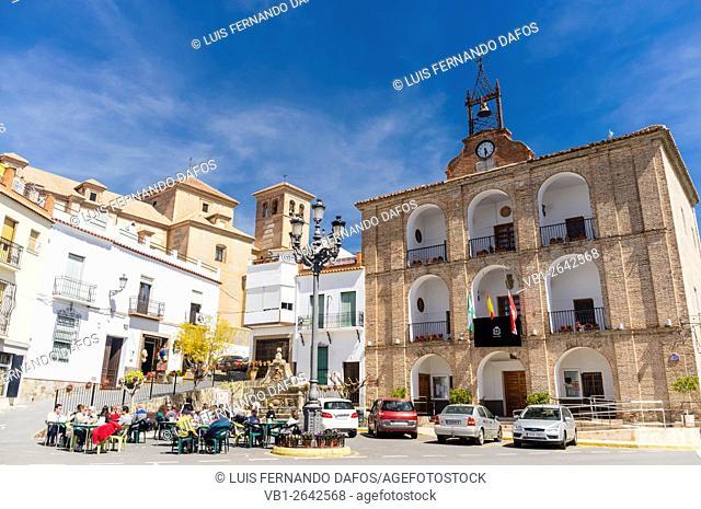 Alpujarras village, Laujar de Andarax, Almeria province, Andalusia, Spain