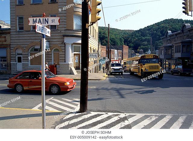 Main street, Richwood, West Virginia