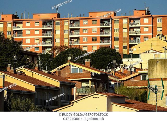 Housing , El Masnou , Maresme , Barcelona province , Catalonia , Spain , ooo