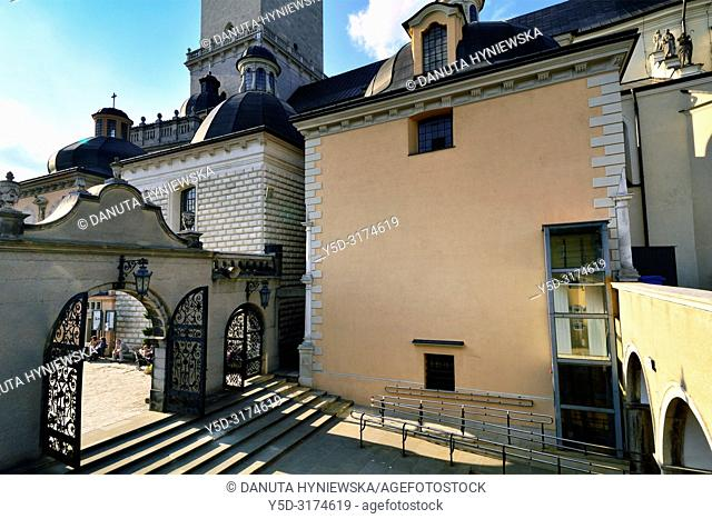 Gate to Wieczernik - upper room, Jasna Gora - most famous Polish pilgrimage site, sanctuary of Our Lady of Czestochowa - Queen of Poland and the Pauline...