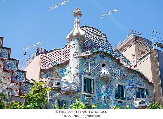 Casa Batlló,.Barcelona City