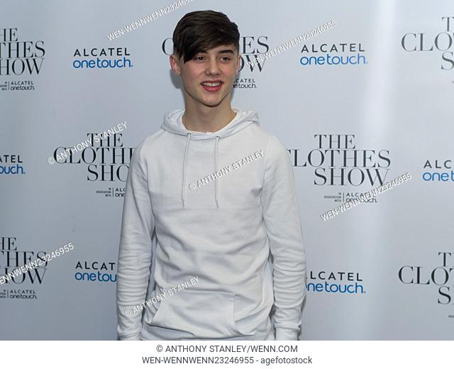 The Clothes Show 2015 - Day 3 Featuring: Jack Simms Where: Birmingham, United Kingdom When: 06 Dec 2015 Credit: Anthony Stanley/WENN.com