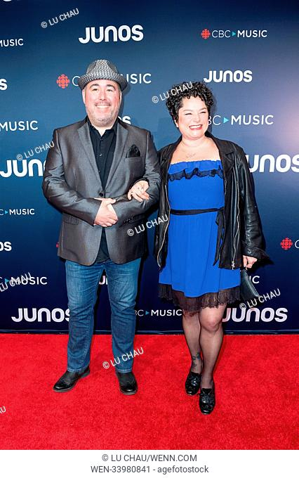 2018 JUNO Awards, held at the Rogers Arena in Vancouver, Canada. Featuring: MonkeyJunk Where: Vancouver, British Columbia