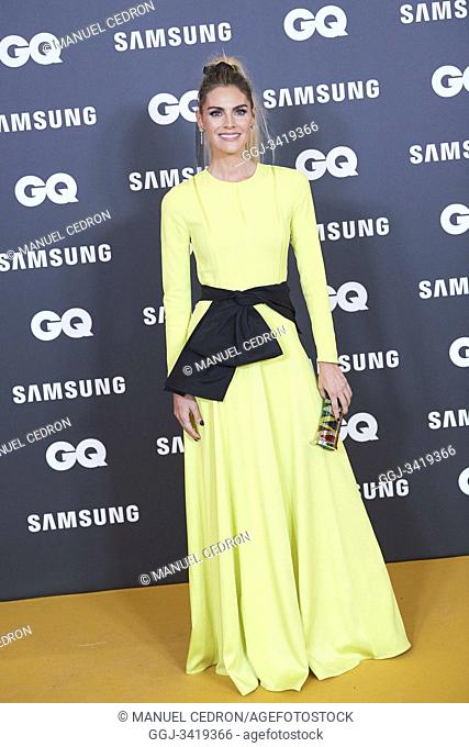 Amaia Salamanca attends GQ Men of the Year Awards 2019 at Palace Hotel on November 21, 2019 in Madrid, Spain