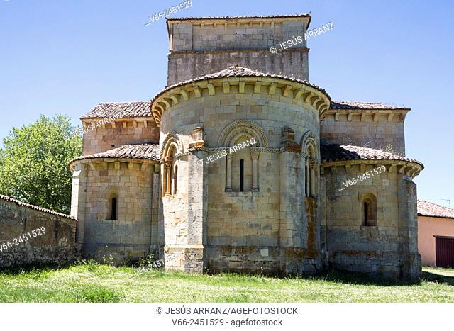 Romanesque church of Santa Eufemia de Cozollos, Olmos de Ojeda, Palencia, Spain