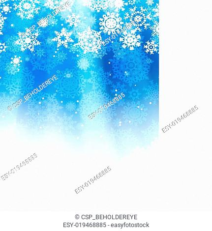 Blue abstract christmas. EPS 8