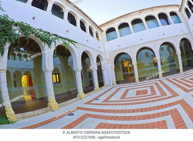 Historic Museum, Old Palacio Episcopal, Historical Center, Historic Artistic Ensemble, Llerena, Badajoz, Extremadura, Spain, Europe
