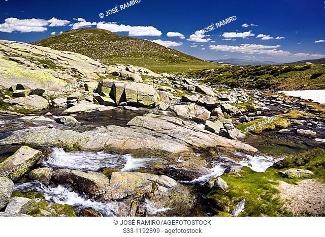 Pozas river in the Sierra de Gredos Avila Castilla León Spain