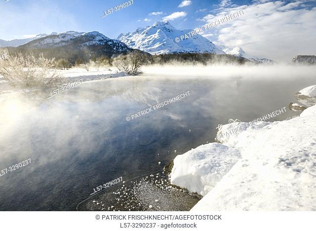 Silsersee, Piz da la Margna - 3158 m, Switzerland