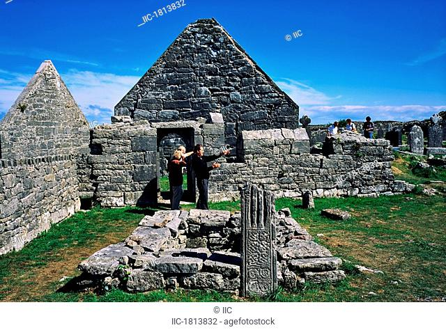 The Seven Churches, Inishmore, Aran Islands, Co Galway, Ireland